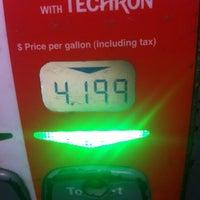 Photo taken at Chevron by Stephane C. on 2/25/2012
