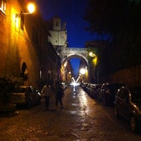 Photo taken at Via Giulia by Fabio Massimo P. on 7/28/2011