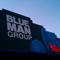 Photo taken at Blue Man Group (Sharp Aquos Theater) by Abhishek P. on 8/27/2011