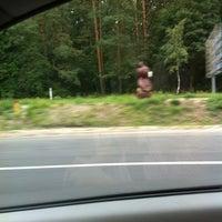 Photo taken at Олімпійский ведмедик / Olimpic Bear Monument by Michael S. on 7/22/2012