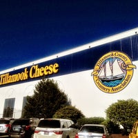 Photo taken at Tillamook Cheese Factory by Kate K. on 7/30/2012