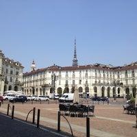 Photo taken at Piazza Vittorio Veneto by Giuseppina D. on 5/25/2012