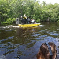 Photo taken at Everglades Private Airboat Tours by Mert on 8/15/2012