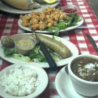 Photo taken at Mulate's Cajun Restaurant by Jeannie on 3/23/2012