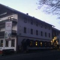 Photo taken at Gasthof Zum Spessart Mespelbrunn by Gijs K. on 1/18/2012