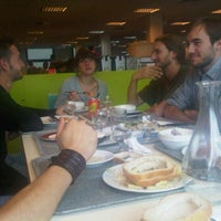 Photo taken at Cantine Sodexo by Grégory C. on 9/9/2011