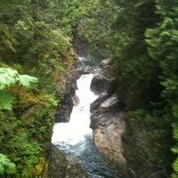 Photo taken at Twin Falls Trail by liz l. on 7/21/2011