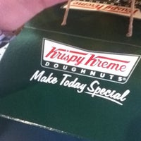 Photo taken at Krispy Kreme by Jocelyn L. on 4/12/2012