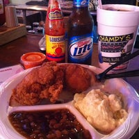 Photo taken at Champy's Famous Fried Chicken by Bo on 9/9/2011