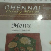 Photo taken at Chennai Curry House by Faten N. on 1/5/2012