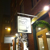 Photo taken at MOD Coffee & Tea House by Marla M. on 1/1/2011