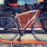Photo taken at Renovo Hardwood Bicycles by Gilbert L. on 10/16/2011