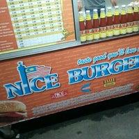 Photo taken at Nice Burger At 7-11 by Awang Ahmad Munawar A. on 10/22/2011