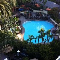 Photo taken at Fairmont Miramar Hotel & Bungalows by Han W. on 6/2/2011