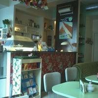 Photo taken at cafe naschkatze by Daniela R. on 11/8/2011
