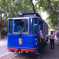 Photo taken at Tramvia Blau by Giuseppe R. on 8/7/2011