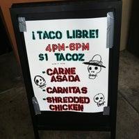 Photo taken at Taco Libre by Jacob B. on 9/29/2011
