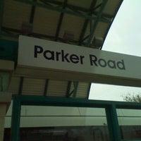 Photo taken at Parker Road Station (DART Rail) by Jake V. on 12/18/2011