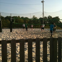Photo taken at VFW Sand Volleyball by Theresa M. on 5/16/2012