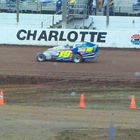 Photo taken at The Dirt Track at Charlotte Motor Speedway by Rick M. on 5/3/2012