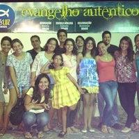 Photo taken at Igreja Batista Sal & Luz by Sarah M. on 5/20/2012