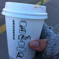 Photo taken at Starbucks by Priscilla P. on 2/26/2012