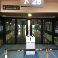 Photo taken at Puerta / Gate 28 by Orlando S. on 8/30/2011