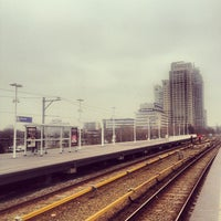 Photo taken at Metrostation Spaklerweg by Tom A. on 3/14/2012