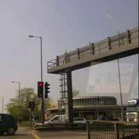 Photo taken at Hanger Lane Roundabout by Anne L. on 5/22/2012