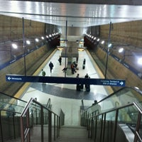 Photo taken at Terminal 1 - Lindbergh LRT Station by Aaron E. on 1/28/2012