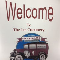 Photo taken at Knudsen's Ice Creamery by Michael N. on 8/20/2012