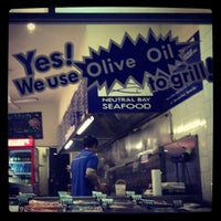 Photo taken at Neutral Bay Seafood by Josua B. on 7/13/2012