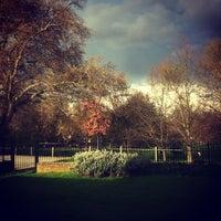Photo taken at Clapton Pond by Seb W. on 4/10/2012
