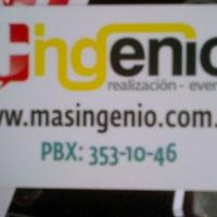 Photo taken at MAS INGENIO EVENTOS by Mas Ingenio E. on 12/27/2011