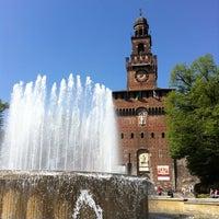Foto scattata a Castello Sforzesco da Enrico T. il 4/6/2011