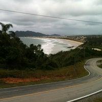 Photo taken at Praia do Mariscal by Leonardo M. on 11/14/2011