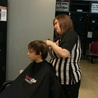 Photo taken at Sport Clips by Michelle S. on 1/3/2012