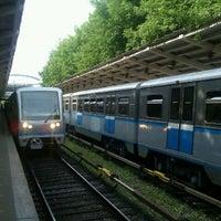 Photo taken at metro Fili by Серж П. on 6/23/2012