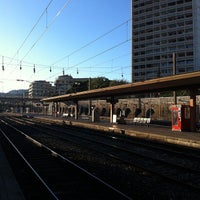 Photo taken at Gare SNCF de Toulon by Sweet N. on 8/31/2012