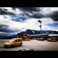 Photo taken at Salzburg Airport W. A. Mozart (SZG) by Maik H. on 7/17/2012