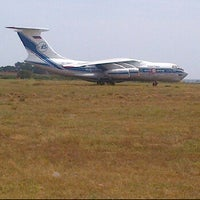 Photo taken at Apron 4, Entebbe International Airport by Seaman S. on 2/17/2012