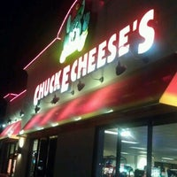 Photo taken at Chuck E. Cheese's by Donzell N. on 2/29/2012
