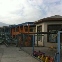 Photo taken at Liceo Bicentenario Santa Maria Iquique by Oscar on 9/1/2012