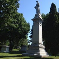 Photo taken at Lakewood Cemetery by Tracy H. on 7/7/2012