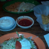 Photo taken at Las Trancas Mexican Restaurant by Caitlin on 7/19/2012