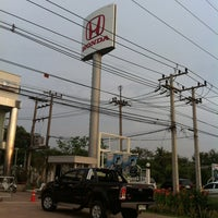 Photo taken at Honda A.V. Cars Surin by Archaree P. on 5/14/2012