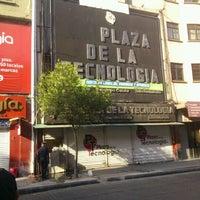 Photo taken at Plaza de la Tecnología by Arkel V. on 5/26/2012