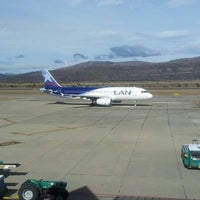 Photo taken at Aeropuerto Internacional de Bariloche - Teniente Luis Candelaria (BRC) by SarkASStiKo A. on 8/20/2012