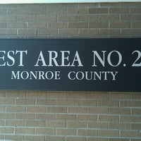 Photo taken at Monroe County Rest Area No. 22 by Cosby C. on 8/27/2012