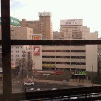 Photo taken at JR 盛岡駅 by Tomoya K. on 8/29/2012